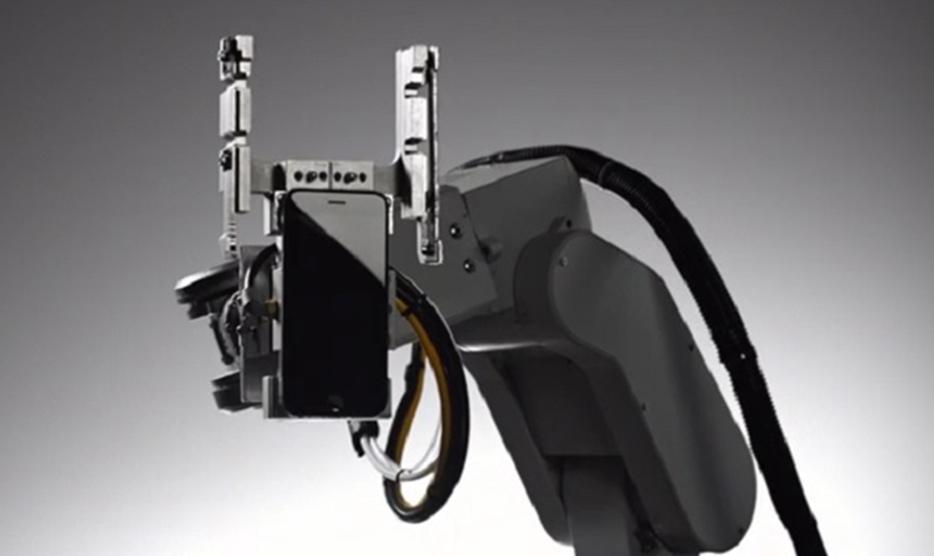 Лиам робот для утилизации смартфонов