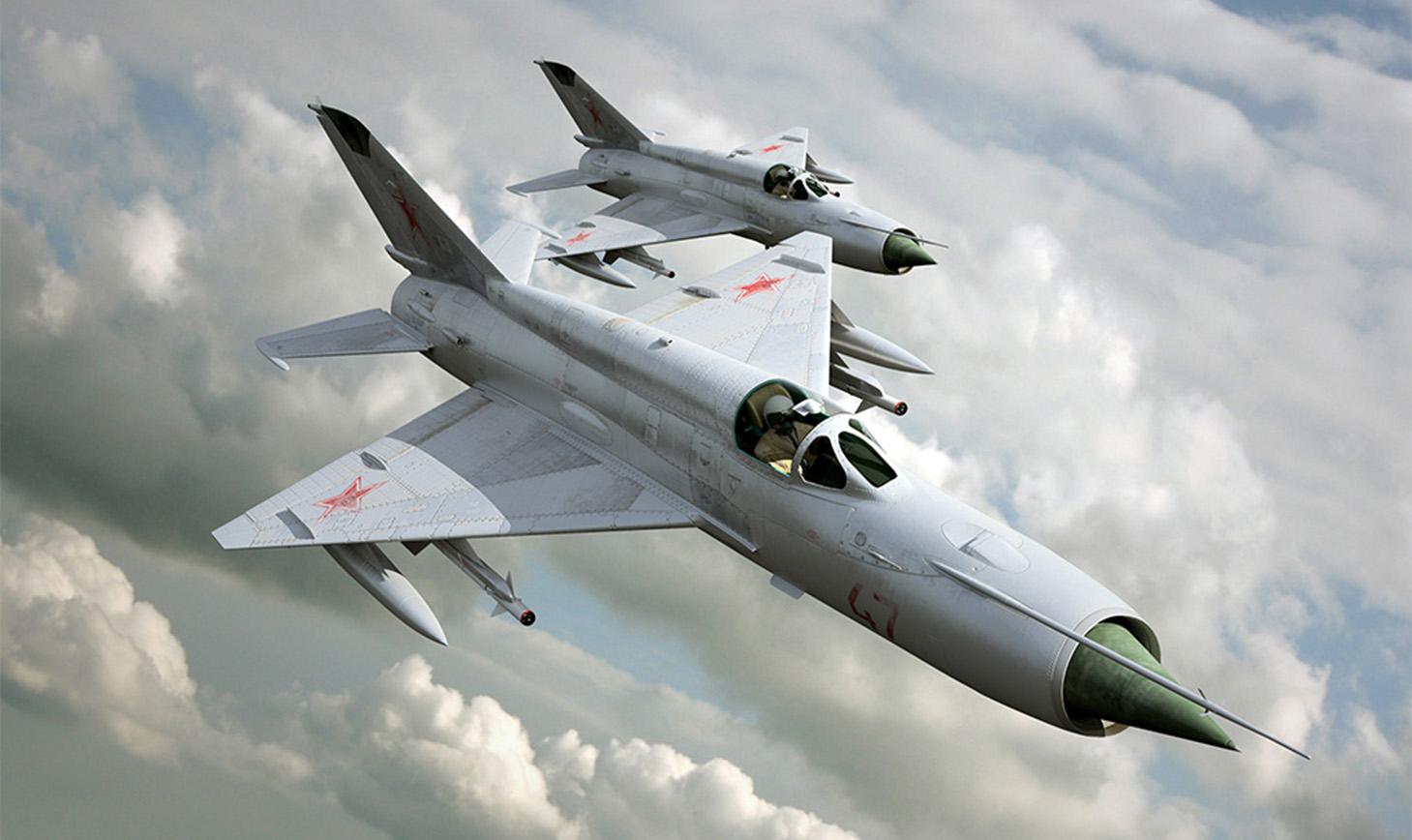 истребитель МиГ21-бис