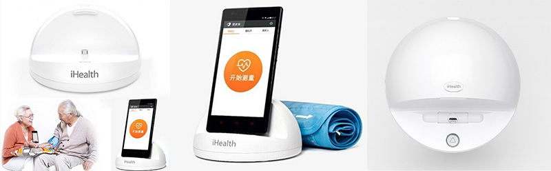 Xiaomi-Bluetooth-iHealth-Smart-Blood-Pressure-Dock-Monitor-System