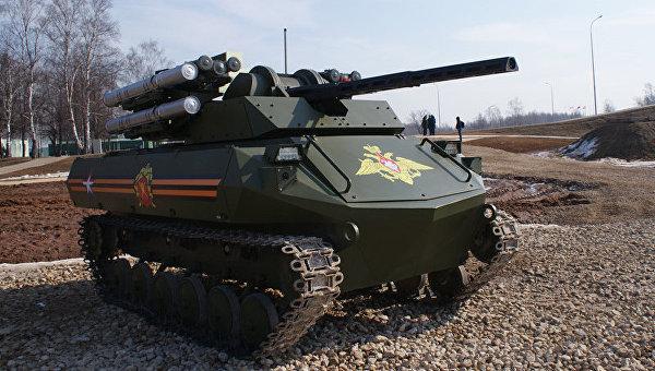 Автоматизированный боевой робот